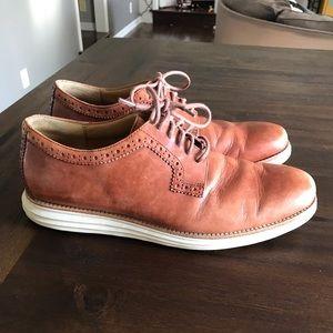 Men's Cole Haan Tan dress shoes size 11